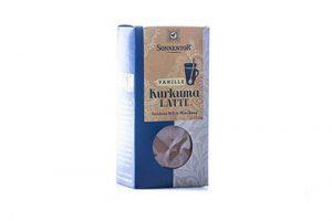 Cúrcuma Latte con Jengibre bio cajita Sonnetor, 60 g