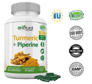 Cúrcuma Piperina 95% Curcumina-Pimienta Negra.