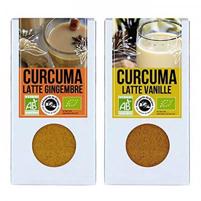 Café con leche Latte - cúrcuma jengibre cúrcuma y la vainilla