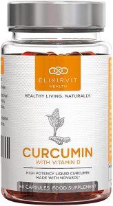 Elixirvit Curcumina líquida con vitamina D