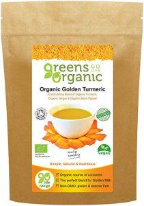 Greens Organic Dorado Cúrcuma
