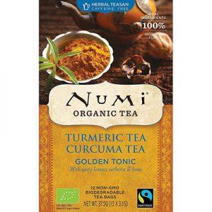 NUMI - Turneric Golden Tonic - Cúrcuma, Verbena de Limón y Lima Seca