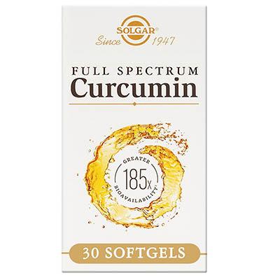 SOLGAR - FULL SPECTRUM CURCUMINA 30cap SOLGAR