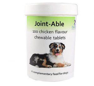 Suplemento articular con sabor a pollo para perros
