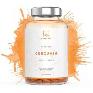 Suplemento de cúrcuma - Curcumina [ 4230 mg ] 180 cápsulas